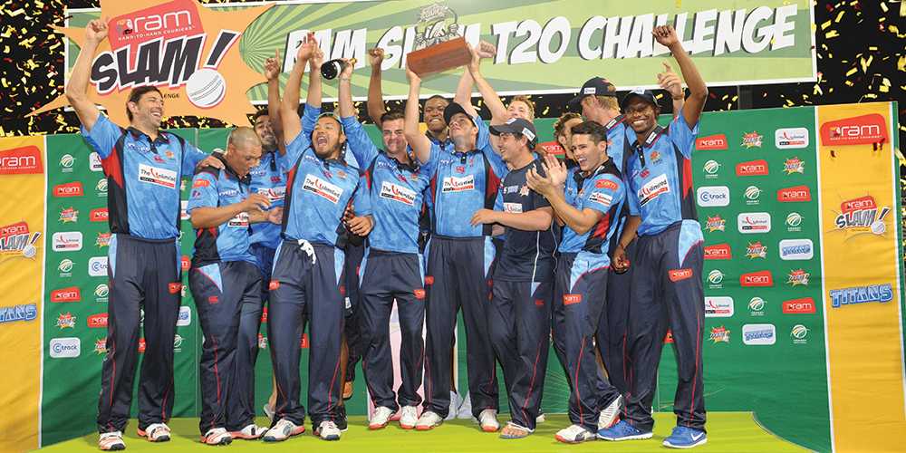 Season 4 of the RAMSlam T20 Cricket Winning Team